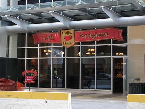 Caffe Artigiano Storefront
