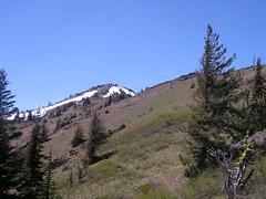 Miller Peak ahead