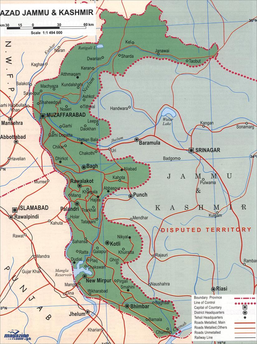 map jammu and kashmir hajipir pass Azad Jammu Kashmir Skyscrapercity map jammu and kashmir hajipir pass
