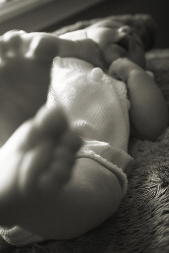 wiggly baby feet