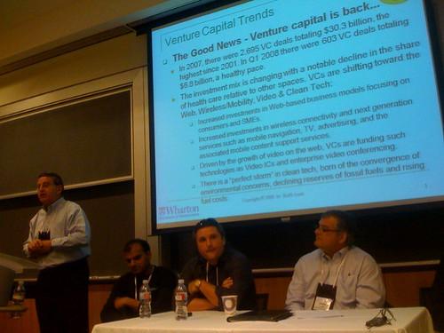 Entrepreneurship and Financing Panel at #Supernova2008