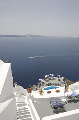 The cladera from Fira.