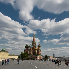 Red Square (fotografos) Tags: clouds distorted russia moscow