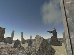 Boot Hill (Aposiopesis) Tags: graveyard cemetary secondlife wastelands postapocalyptic virtualworld giuseppi burntoak