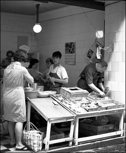 John Fyfe. Pescadería en Toledo, 1967
