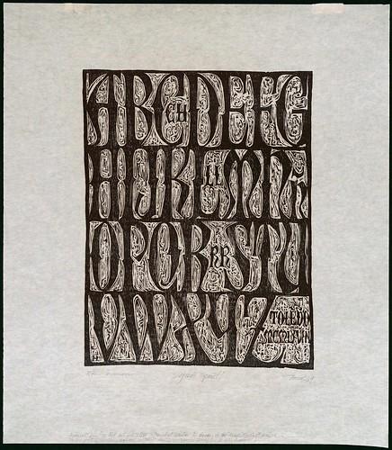 alfabeto en letra manuscrita