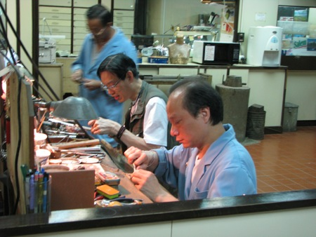 Making gems in Hong Kong