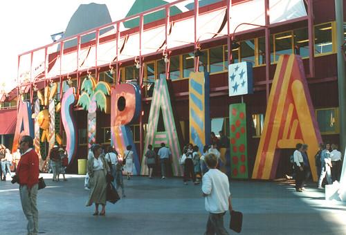 Ken Done Australia logo - Expo 88