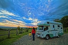 Last Sunset (/\ltus) Tags: sunset japan hokkaido raw pentax rv hokkaidolife campingcar 1xp nothdr vantech k20d zil520 campinginjapan