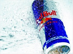 gives you wings (Soud Al - Dyouli) Tags: red water bull kuwait splash redbull q8 aplusphoto soudq8 aldyouli