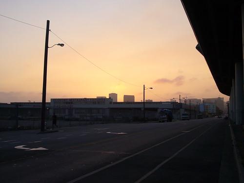 7th at dusk
