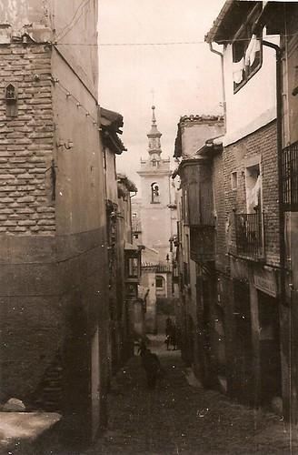 Bajda de San Justo, años 50. Fotografía de Eduardo Butragueño Bueno