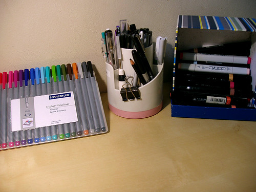 my pen collection
