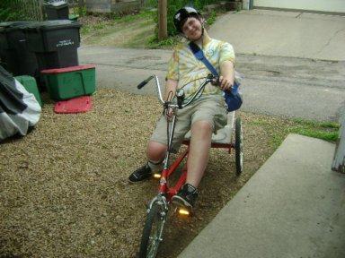Hendrix's bike