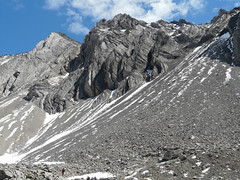 Ptarmigan Cirque scree (annkelliott) Tags: canada mountains nature kananaskis lumix scenery alberta scree peaks barren rugged annkelliott ptarmigancirquetrail fz18 panasonicdmcfz18 p1230861fz18