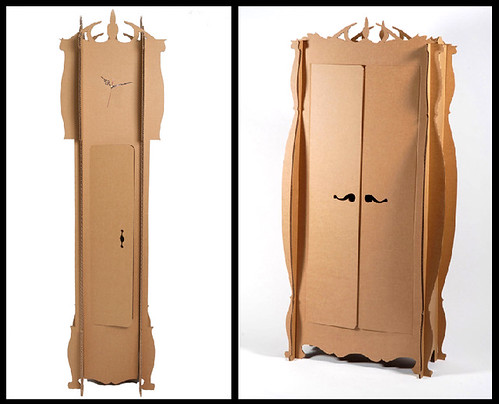 How To Make A Grandfather Clock Out Of Cardboard