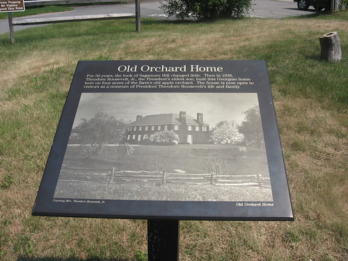 Old Orchard House - Plaque