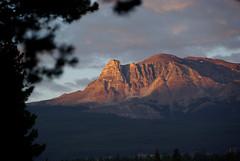 Jasper Park Evening (Dan Stuller) Tags: sunset mountain canada mountains scenery scenic alberta jaspernationalpark canadianrockies
