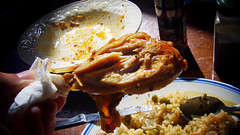 鮮嫩烤雞腿 (by 張家振)