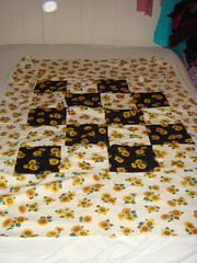 sunflower quilt