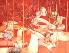 carosello (Simona Cordero) Tags: horse kids illustration children carousel carosello