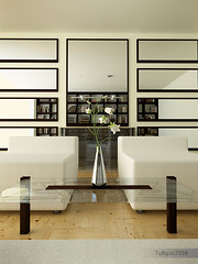 Reading room 2 (Ngoc T Phan) Tags: architecture photoshop 3d interior render cinema4d c4d vray