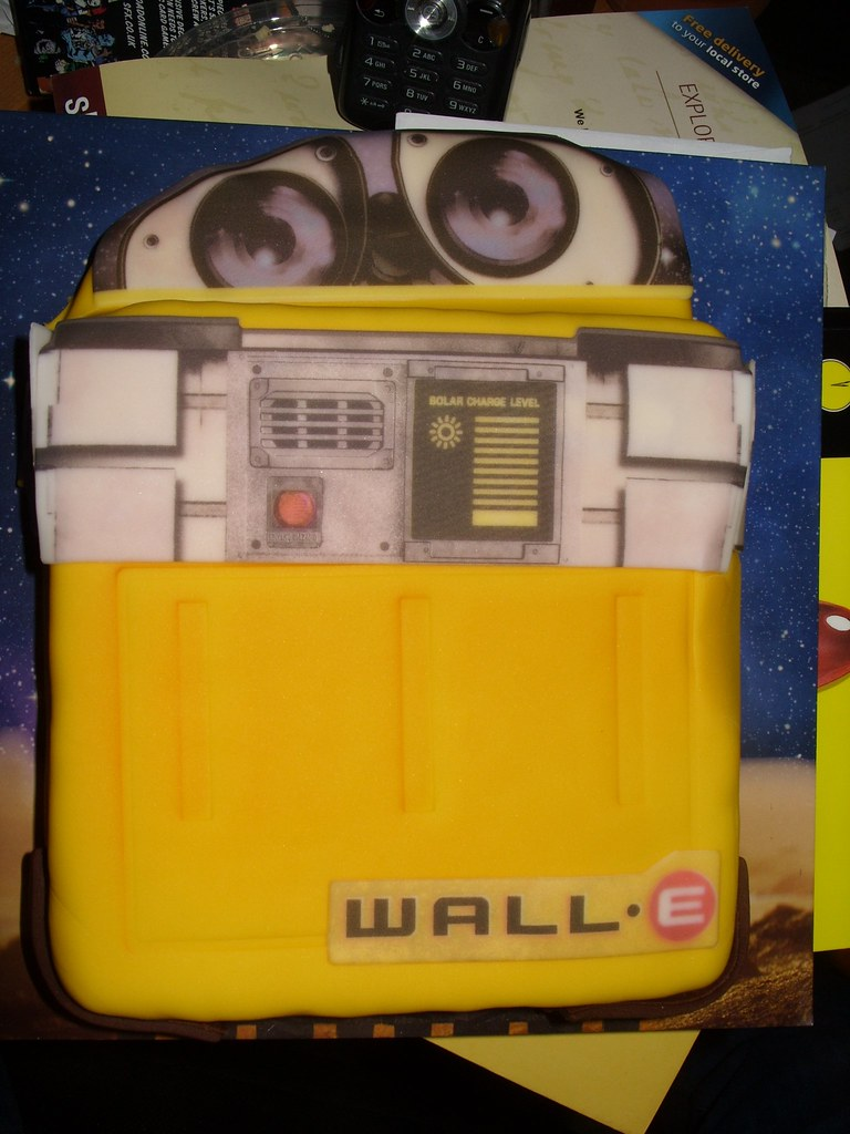 Birthday Cake Nickstone333 Tags Birthdaycake Walle