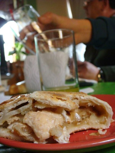 Empanada de pino. Santiago, Chile.