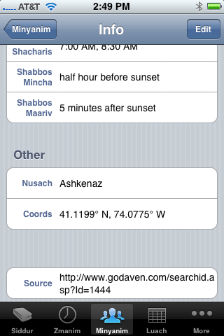 iPhone Siddur Version 1.8 - What's Coming