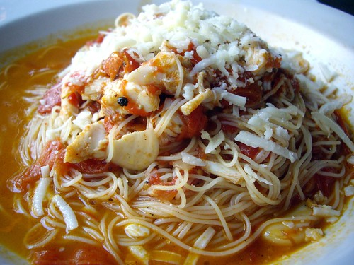 Crab Angel Hair Cappellini
