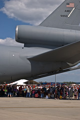 ...could crush hundreds (this.is.madness!) Tags: show blue sky public america plane army nose us fighter rj open force power aircraft military air united crowd navy jet engine f16 week omaha f22 states thunderbirds patriot patriotism bomber pilot tanker c5 kc10 awacs kc135 offutt rc135