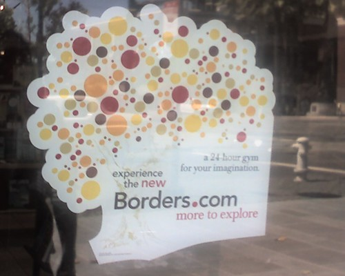 Borders sign