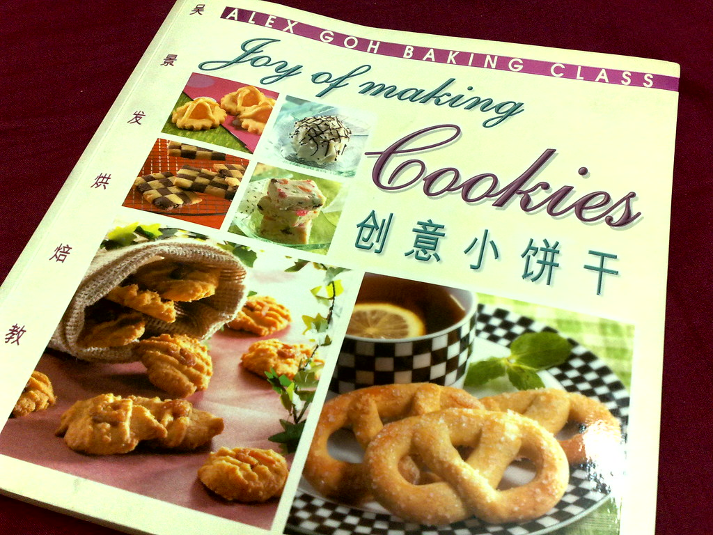Joy Of Making Cookies Recipe Book By Alex Goh