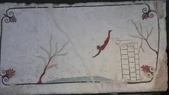 Tomba del Tuffatore (Paestum): il tuffatore (akhet_akhet) Tags: campania musei viaggi sud visite pmc archeologia grandebellezza