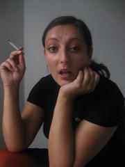 Fjollet (Sakena) Tags: me smoking posing sakena sakenajamig