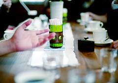 yak at cafe (ledlight0325) Tags: yak color coffee japan zeiss table 50mm cafe fuji bokeh voigtlander bessa talk sugar conversation moment tabaco okayama kurashiki elgreco f15 sonnar fujicolor r2a ダンテ zeisscsonnar50mmf15 りょうちん 飲食店シリーズ コレちゃん ワタルさん みーき