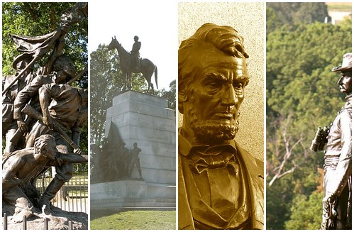 Civil War Statues