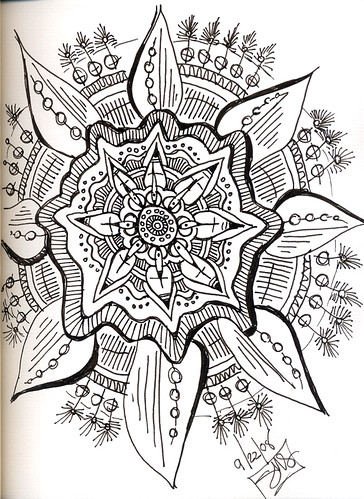Mandala to pass time