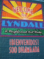 Lyndale Neighborhood Association Mural by Dale Manor
