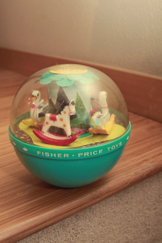 1967 Fisher Price Roly Poly Chime Ball