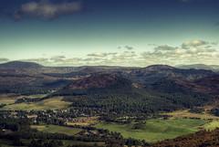 shortbread (greengymdog) Tags: mountain clouds forest scotland highlands hills braemar deeside shortbreadtin