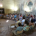 GMF tutor Roland Melia leads conducting workshop in Church of S. Tommasso e Prospero
