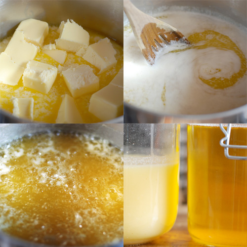 Making ghee