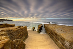 Sandstone and Sky #2 - La Jolla, California (PatrickSmithPhotography) Tags: ocean california travel sea wallpaper vacation sky seascape nature landscape la sand sandstone seascapes sandiego wave lajolla socal oceanside palmtree 5d southerncalifornia delmar jolla encinitas 1740l landscapephotography seascapephotography