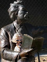 """You may read to me now, sir."" (Fiddybobiddy) Tags: blythe monrovia marktwain huckleberryfinn mattehollywood bingo20"