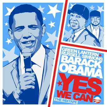 green Lantern - Yes We Can (Hosted By Russell Simmons)