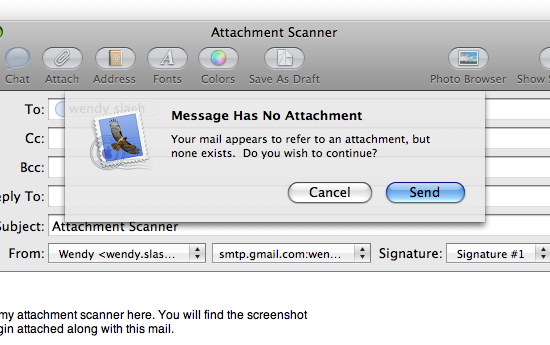 Mail Plugin: AttachmentScanner