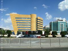 Riyad - KSA (-Mohamed-) Tags: blue tower skyscraper mall al construction open gulf centre kingdom center east ciel saudi arabia highrise middle orient now riyadh novotel ksa gratte riyad moyen centria anoud wassil 3anoud thebleu