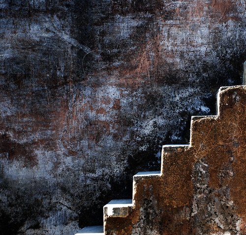 Wall with Steps