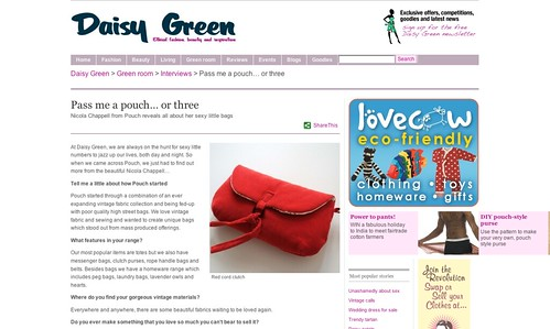 Daisy Green magazine interview